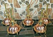 Ceiling Hanging Pendant New Spot Light Fixture Nautical Copper And Brass 5 Piece