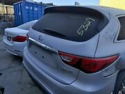 Silver Tailgate W/o Surround View 000 903129nc0a Fits 17-19 Infiniti Qx60 Oem