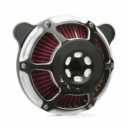 08-16 Touring Moto Pm Air Cleaner Intake Filter For Harley Street Glide Roadking