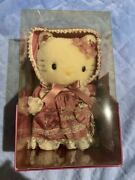 Hello Kitty Hermann Mohair Doll Lady Victorian Plush Toy Limited 300 Boxed