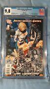 Justice Society Of America 1 Variant Cgc 9.8 Power Girl 1st New Starman Cyclone