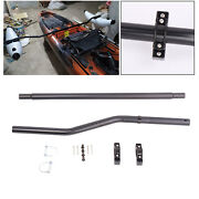 Canoe Kayak Floats Stabilizer Outrigger Arms Connect Pole Full Install Tools