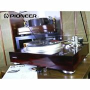 Pioneer Pl-70 Record Player Included Maintenance Adjusted Product Ex+