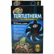 Zoo Med Turtletherm Automatic Preset Aquatic Turtle Heater - 150 Watt Up To ...