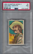 1959 Wild Bill Hickock Card Psa 7 W. Shipton Series 1 Group 14 One Higher