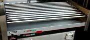 Nemco 8250-slt Countertop Roller Grill Hot Dog Roller Used Once Food Truck
