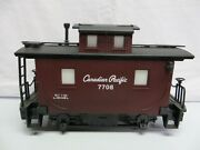 Lionel Large G Scale Bobber Caboose Canadian Pacific Item No. 8-87708 Cp