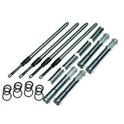 Sands Quickee Adjustable Pushrods With Cover Keepers For Harley Milwaukee Eight M8