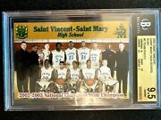 Lebron Saint Vincent Mary High School Team Card 5 Bgs 9.5 Ruby 1/2003 Mint 2