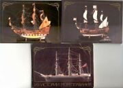 Models Of Old Ships. Russian 18 Different Postcards