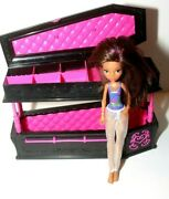 Monster High Dead Tired Draculaura Jewelry Box Coffin Bed W/ Clawdeen Wolf Doll