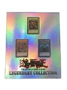 Yugioh Legendary Collection Binder With Egyptian Gods