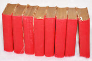 Antique Collectible 8 Shakespeares Works 8 Volumes Henley Edition 1912 Book Set