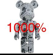 Bearbrick Keith Haring Mickey Mouse