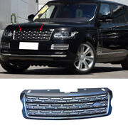 For 2013-2017 Range Rover L405 Blackandgray Front Center Mesh Grille Grill Cover