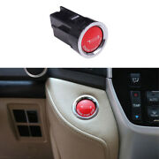 Red Start Button Ignition Switch Cover Trim For Toyota Land Cruiser 2008-2021