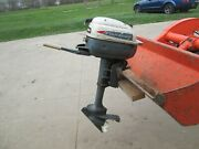 Evinrude Lightwin 3hp Outboard Boat Motor 1950s 2 Cycle Engine