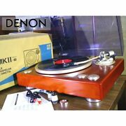 Denon Dp-1300mkii Record Player Option Weight With Original Box Adjusted Product