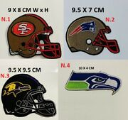 Nfl Teams American Football Embroidered Badge Iron On Sew On Jacket Jeans Shirts