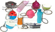 Tupperware Mixed Lot Of 10 Keychains Some Rare Fun Sized Mini Gadgets New Lot T7
