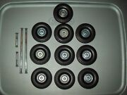 Smith Miller Smitty Toys 1950and039s Mic Tires Wheels Hubs And Axles Tandem Setup 1