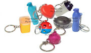 Tupperware Mixed Lot Of 8 Keychains Some Rare Fun Sized Mini Gadgets Set W5