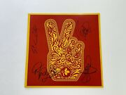 Stone Temple Pilots Band Signed Autographed Vinyl Record Bas Loa Scott Weiland