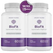 2 Pack Biofit Weight Loss Probiotic Supplement - Bio Fit
