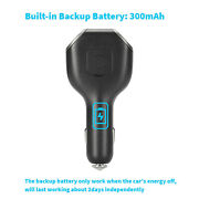 Portable Car Charger Adapter Gps Tracker Gprs Real-time Tracking Device