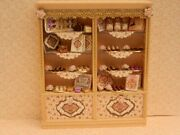 Dolls House Food1/12th Ooak Shabby Chic Double Chocolate Shop Display By Fran