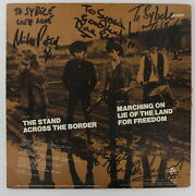 The Alarm Band Signed Album 1983 Mike Peters Irs Uk Lp New Wave Punk Dave Sharp