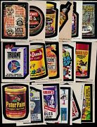 1974 Topps Wacky Packs Series 6 Complete Set 33/33 Ex- Packages Truant Mold Rush