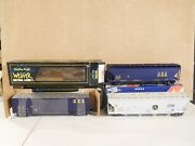 Lot Of 3 Weaver Csx Boxcar And Hoppers Train Cars O Scale