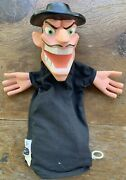 Vtg 1960s Mattel Beany And Cecil Dishonest John Hand Puppet Very Clean Talking