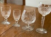 Waterford Crystal Collection Of 34 Glasses.....new Price