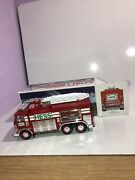 Hess 2005 Emergency Fire Truck With Rescue Vehicle In Box