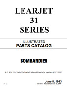 Learjet 31 Series Ilustrated Parts Catalog