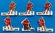 Coleco 1967 Nhl Detroit Red Wings Metal Table Hockey Game Team