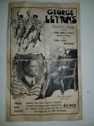 Antique Songbook George Leyton Fundraising Crimean War Songbook