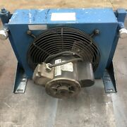 Hydraulic Cooling Unit With 16 Ports 115v Fan Cooled Came Off Of 20gpm Unit