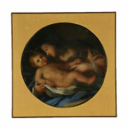 Madonna With Child Oil On Wood 19th Century And039800