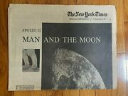 New York Times July 17 1969 Supplement Apollo 11 Man On Moon Newspaper