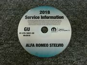 2018 Alfa Romeo Stelvio Shop Service Repair Manual Cd Ti Quadrifoglio 2.0l 2.9l