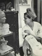 Claudia Cardinale Body Plaster Cast Double Weight Vintage 10x14 Oversized Photo