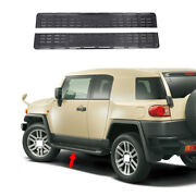 Black Steel Running Board Side Pedals Foot Pedal For Toyota Fj Cruiser 2007-2014
