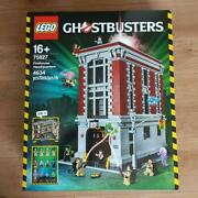 Lego Ghostbusters Firehouse Headquarters Fire Division 75827 New Sealed Retired