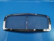 Bentley Continental Flying Spur Main Radiator Chrome Grille 3pcs 9783