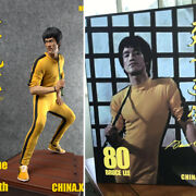 China.x-h 1/6 The Game Of Death Bruce Lee 1/6 Statue Double Head Model