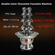 Commercial Chocolate Fountain Professional Waterfall Melting Machine With Digita