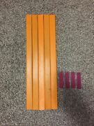 Vintage Original 1967 Hot Wheels Strip Action Set 10ft Of Track And 4 Joiners